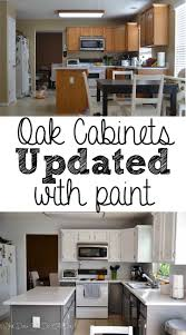 Painted Oak Cabinets 25 Best Ideas About Painting Oak Cabinets White On Pinterest