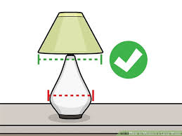 How To Measure Lamp Shade Custom 32 Ways to Measure a Lamp Shade wikiHow