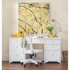 home office drawers. Oxford White Desk Home Office Drawers