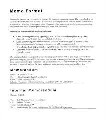 Internal Memo Format Letter Justification Memo Template Legal