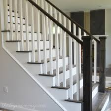 Staircase Railing Ideas finishing our stair railings more peeks at our almostfinished 5740 by guidejewelry.us