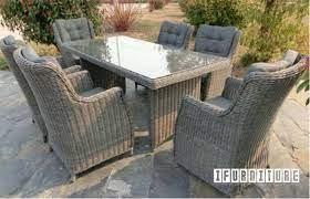 matakana 7 pcs patio dining set