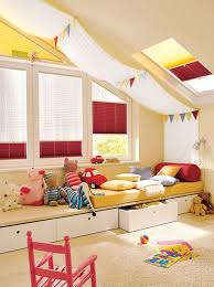 Attic Kids Room Designs