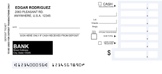 How To Fill In A Deposit Slip Adults