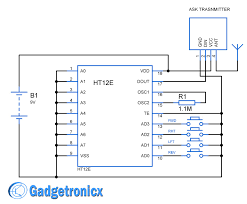 how to build a remote control rc car at home gadgetronicx rc car remote control circuit diagram