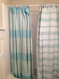 gallery pictures for striped shower curtains with white extra long