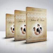 wedding book cover template wedding party bundle vol 3