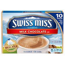 swiss miss milk chocolate cocoa 7 3oz 207g