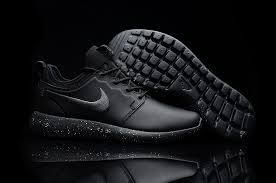 2016 nike roshe two leather black mens womens running sport shoes dc003745