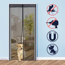 magnetic door fly screen bug insect netting mosquito net guard mesh curtain new