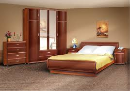 wooden furniture designs for home. Wooden Home Furniture Ideas For Bedroom Using Cherry Wood With Base Bed And Cupboard Mirror Also Nightstands Designs