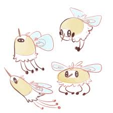 Cutiefly Evolution Chart Feathers I Hope That When Cutiefly Evolves It Just Turns