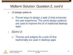 cmpe 280 web ui design and development october 26 class