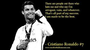 Football Quotes Custom Football Quotes 48 Cristiano Ronaldo