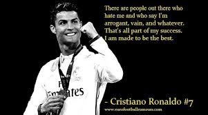 Football Quotes Custom Football Quotes 48 Cristiano Ronaldo