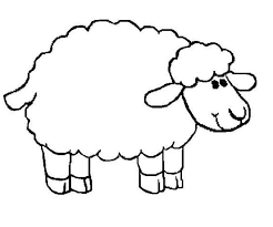 Small Picture Sheep Soft Fur Coloring Page Coloring Sky Coloringeastcom