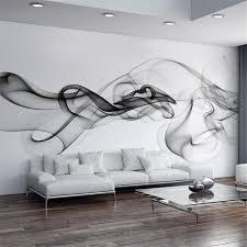 Small Picture Smoke Fog Photo Wallpaper Modern Wall Mural 3d View Wallpaper