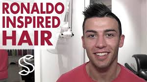 Great Clips Hairstyles For Men Cristiano Ronaldo Inspired Haircut Tutorial How To Style Cut A
