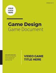 Game Design Document Template Professional Game Design Document By Lhodgesdesign Issuu