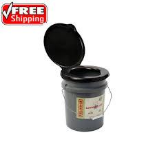 portable toilet seat honey bucket