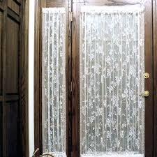 front door window panel curtains impressive sheer front door curtains short door curtains roman