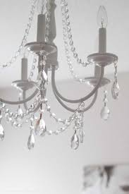 diy add crystals to chandelier unique diy crystal chandelier easy tutorial chandeliers