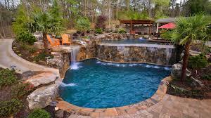 Custom Backyard Pool Designs Swimming Pool Custom Designs Inground Pool With Waterfront