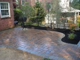 awesome paver patio for your outdoor patio ideas awesome paver patio floor ideas with plant