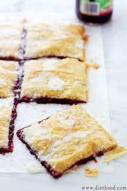 Frozen sheets are so convenient, and are ideal for appetizers or desserts. Phyllo Raspberry Pop Tarts With Vanilla Glaze Homemade Pop Tarts