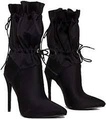 <b>perixir High Heels</b> Stilettos Fashion Mid-Calf Boots <b>Women</b> Shoes ...