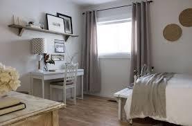 modern rustic office. Budget Bedroom Home Office DIY Refresh Modern Rustic D