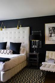 black white style modern bedroom silver. Style At Home: Nicole Cohen Of Sketch42. Black And Cream BedroomBedroom White Modern Bedroom Silver