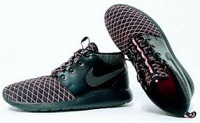Nike Roshe One Winter Mid Running Shoes Girls Sz 7y Womens