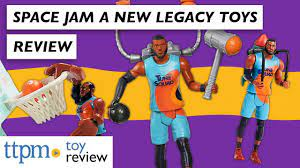 SPACE JAM 2: A New Legacy TOYS Ft. LeBron James from Moose Toys | Action  Figure Toy Reviews - YouTube
