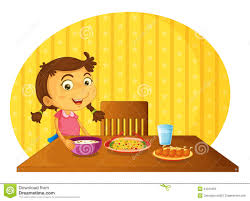 table clipart. kid set table clipart clipartsgram