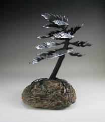 Rock Sculpture windswept tree sculpture small by cathy mark 8886 by xevi.us