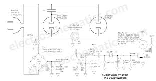 ac relay power switch circuit ac power relay switch circuit