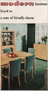 this modern heywood wakefield dining room set appeared in the october 1947 american home magazine i prefer the dog bone backed heywood wakefield dining