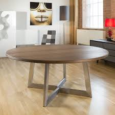 massive 160cm dia luxury round dining table oak wood bespoke colour size brown