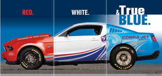 2012 Ford Mustang Cobra Jet and Mustang 302S race-ready track cars ...