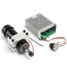 <b>Brand New</b> 1 Set CNC <b>Spindle</b> 500W Air <b>Cooled</b> 0.5kw Milling Motor ...