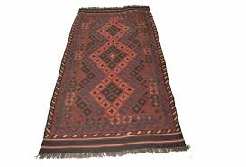 antique style kilim rug 202x94 cm vintage looking area rugs