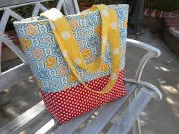 Quilted Tote Bag Tutorial &  Adamdwight.com