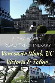 vancouver island family road trip to