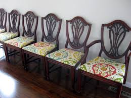hepplewhite shield dining chairs set:  dining chair amazing set of six shield back chairs zoom