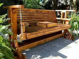 image is loading 5fthandmadesouthernstylewoodporchgliderpatio outdoor glider bench n59