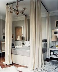 Modern Bedroom Design Idea: Bed Curtains | Lay Me Down to Sleep ...