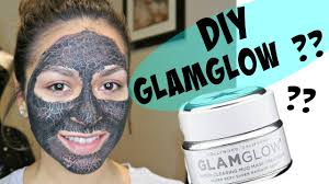 diy activated charcoal face mask glamglow dupe or nah get rid of blackheads you