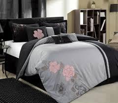 gray bedding queen size color flowers queen comforter sets