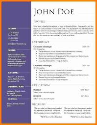 Cv Template Office 7 Cv Office Template Theorynpractice